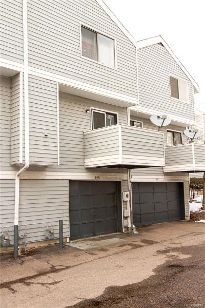 Aurora Condo/Townhouse Under Contract: 20 South Nome Street #E