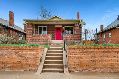Denver CO Single Family Home Active: $598,900