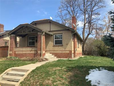 Denver County Single Family Home Active: 1036 Jackson Street