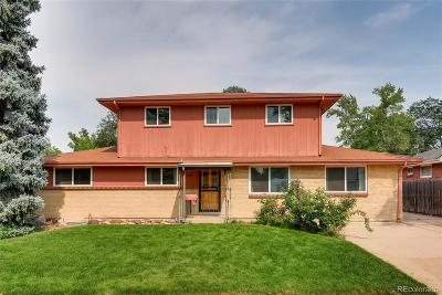 Centennial Single Family Home Under Contract: 6666 South Kit Carson Street