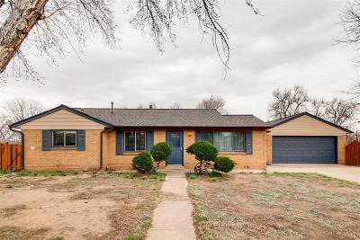 Wheat Ridge Single Family Home Under Contract: 4640 Otis Street
