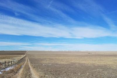 Arapahoe County Residential Lots & Land Active: 53807 East County Road 26