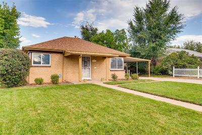 Denver Single Family Home Active: 3024 North Cook Street
