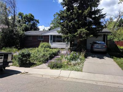 Centennial Single Family Home Under Contract: 2122 East Panama Drive