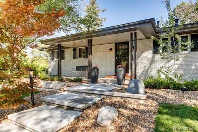Denver Single Family Home Active: 90 Locust Street