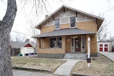 Denver Single Family Home Active: 4130 West 35th Avenue