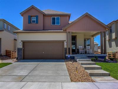 Commerce City Single Family Home Under Contract: 17528 East 111th Place