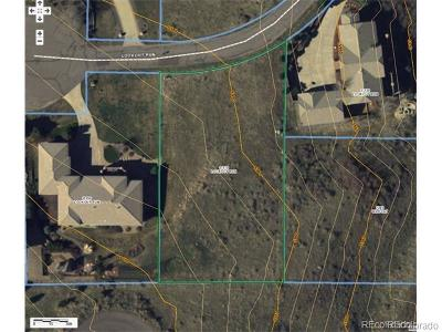 Littleton Residential Lots & Land Under Contract: 11170 West Lookout Run