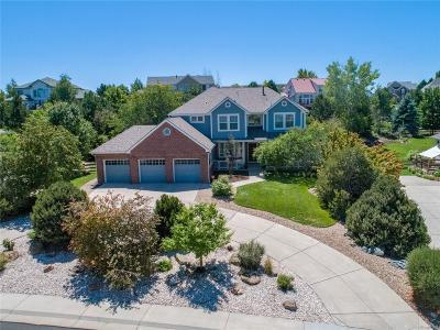 Castle Rock Single Family Home Under Contract: 3225 Coyote Hills Court
