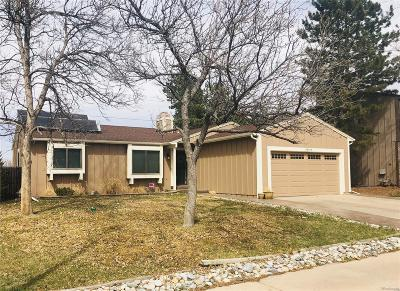 Centennial Single Family Home Active: 18319 East Belleview Place