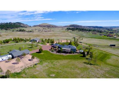 Larkspur Single Family Home Under Contract: 15644 Shadow Mountain Ranch Road