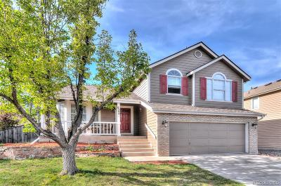 Highlands Ranch Single Family Home Under Contract: 8398 Cobblestone Court