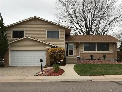 Aurora CO Single Family Home Active: $389,000