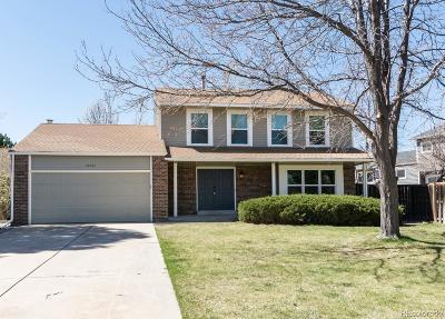 Centennial Single Family Home Active: 20734 East Dorado Place