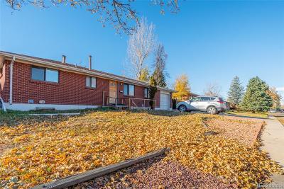 Aurora, Denver Single Family Home Under Contract: 13662 East Dakota Avenue