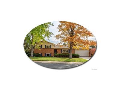 Centennial Single Family Home Active: 6955 South Garfield Way