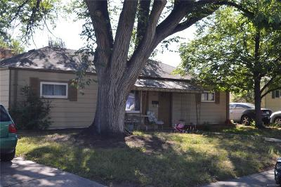 Aurora CO Single Family Home Active: $279,999