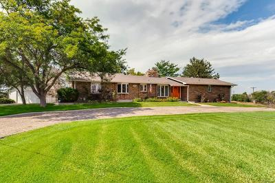 Brighton Single Family Home Active: 14599 Chambers Road