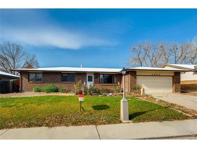 Longmont Single Family Home Under Contract: 1543 Vivian Street