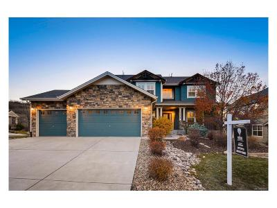 Castle Rock Single Family Home Under Contract: 1547 Ridgetrail Court