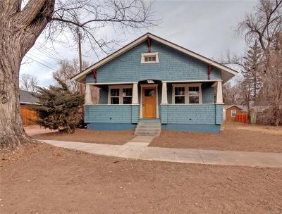 Colorado Springs Single Family Home Active: 1118 East Cache La Poudre Street