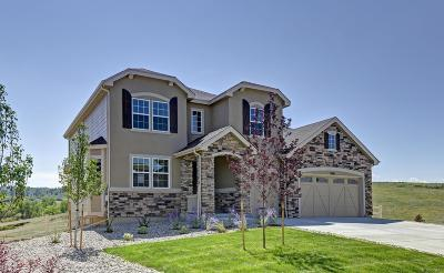 Castle Rock CO Single Family Home Active: $634,950