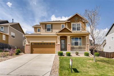 Castle Rock Single Family Home Under Contract: 2514 Fairway Wood Circle