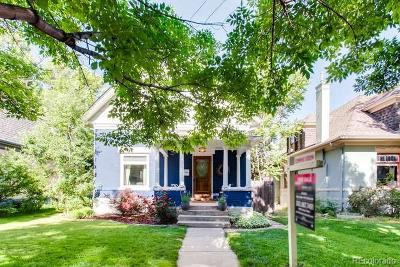 Denver Single Family Home Under Contract: 645 South Sherman Street