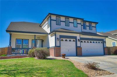 Longmont Single Family Home Active: 689 Glenarbor Circle