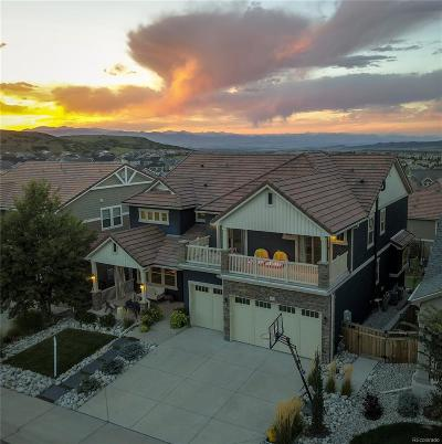 Castle Rock Single Family Home Under Contract: 3313 Glorious Place