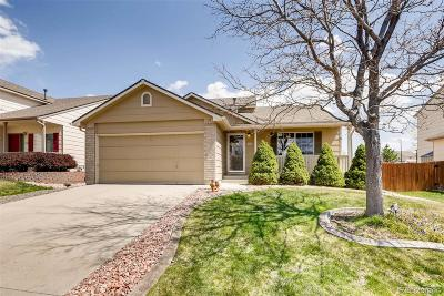 Castle Rock Single Family Home Under Contract: 4134 Deer Watch Drive