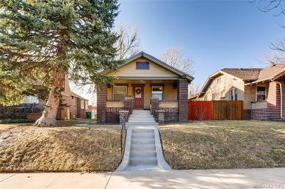 Single Family Home Under Contract: 3080 West 36th Avenue