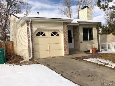 Arvada Single Family Home Under Contract: 5743 West 76th Drive