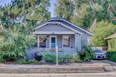 Denver Single Family Home Active: 4948 West 38th Avenue