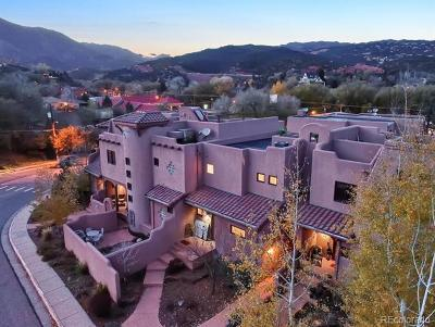 Manitou Springs Condo/Townhouse Active: 27 Crystal Park Road