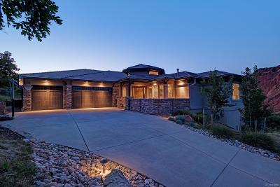 Littleton Single Family Home Under Contract: 4801 Ponderosa Trail