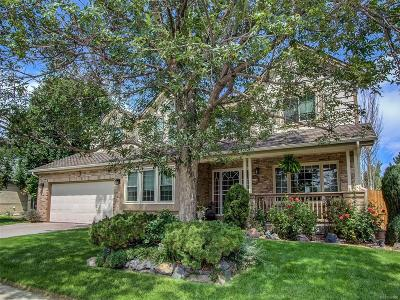 Centennial Single Family Home Active: 5455 East Dry Creek Circle