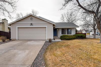 Highlands Ranch CO Single Family Home Under Contract: $400,000