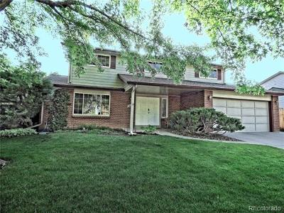 Littleton Single Family Home Active: 7619 South Lamar Way