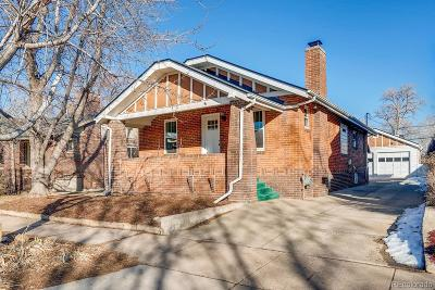 Denver Single Family Home Under Contract: 3536 Perry Street