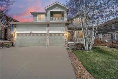 Castle Pines Single Family Home Under Contract: 6173 Vacquero Circle