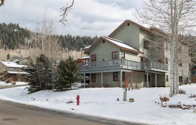 Steamboat Springs Condo/Townhouse Active: 1885 Hunters Drive