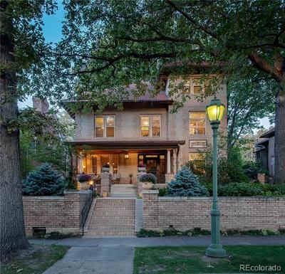 Denver Single Family Home Active: 1110 North Humboldt Street