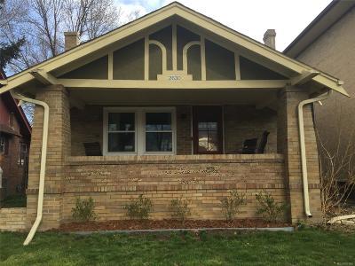 Denver Single Family Home Active: 2630 York Street