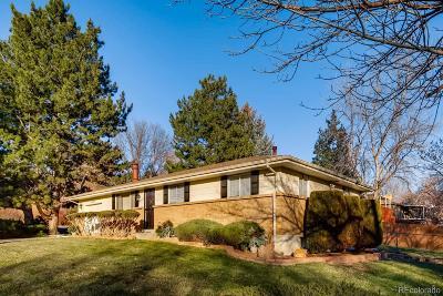 Arvada Single Family Home Active: 6846 Miller Street