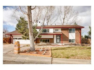 Arvada Single Family Home Active: 7783 Webster Way