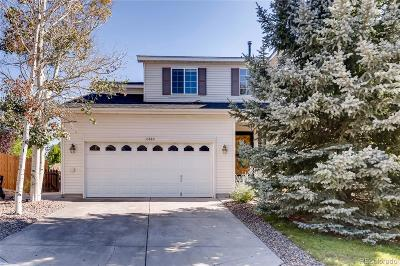 Parker Single Family Home Under Contract: 10880 Mount Antero Way