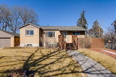 Thornton Single Family Home Under Contract: 2641 Poze Boulevard
