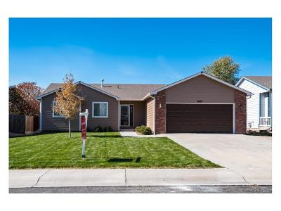 Larimer County Single Family Home Under Contract: 8419 Three Silos Drive