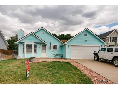 Broomfield Single Family Home Under Contract: 1235 West 135th Avenue
